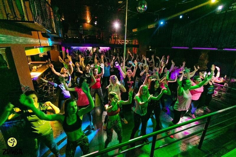 Фитнес-вечеринка ZUMBA, часть 1